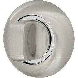 Завертка ARMADILLO (Китай) WC BK6-1SN/CP-3 (матовый никель/никель) 6мм