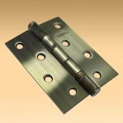 Петля дверная КОРАЛ 4х3х2 2BB AB (бронза)
