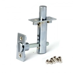 Апекс FL-0360-INNER-CR (хром) Задвижка дверная