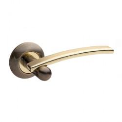 Апекс H-0521-Z-AB/G (бронза/золото) Ручки раздельные