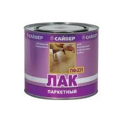 Лак паркетный ПФ-231 САЙВЕР 1,8л