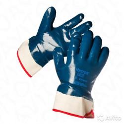 Перчатки-краги «Хайкрон» с полным нитриловым покрытием (27-805)