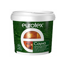 Пропитка Eurotex-сауна 0,9 кг.